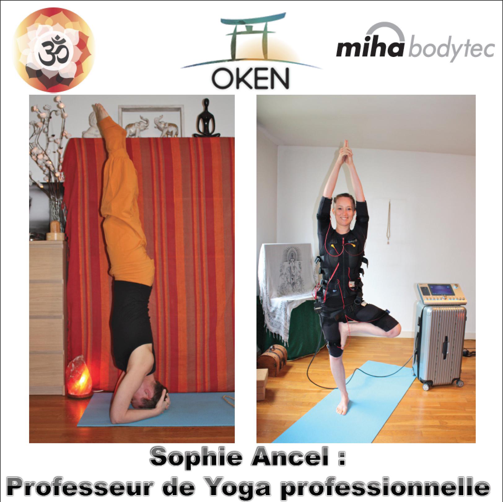 Sophie Ancel, professeur de Yoga