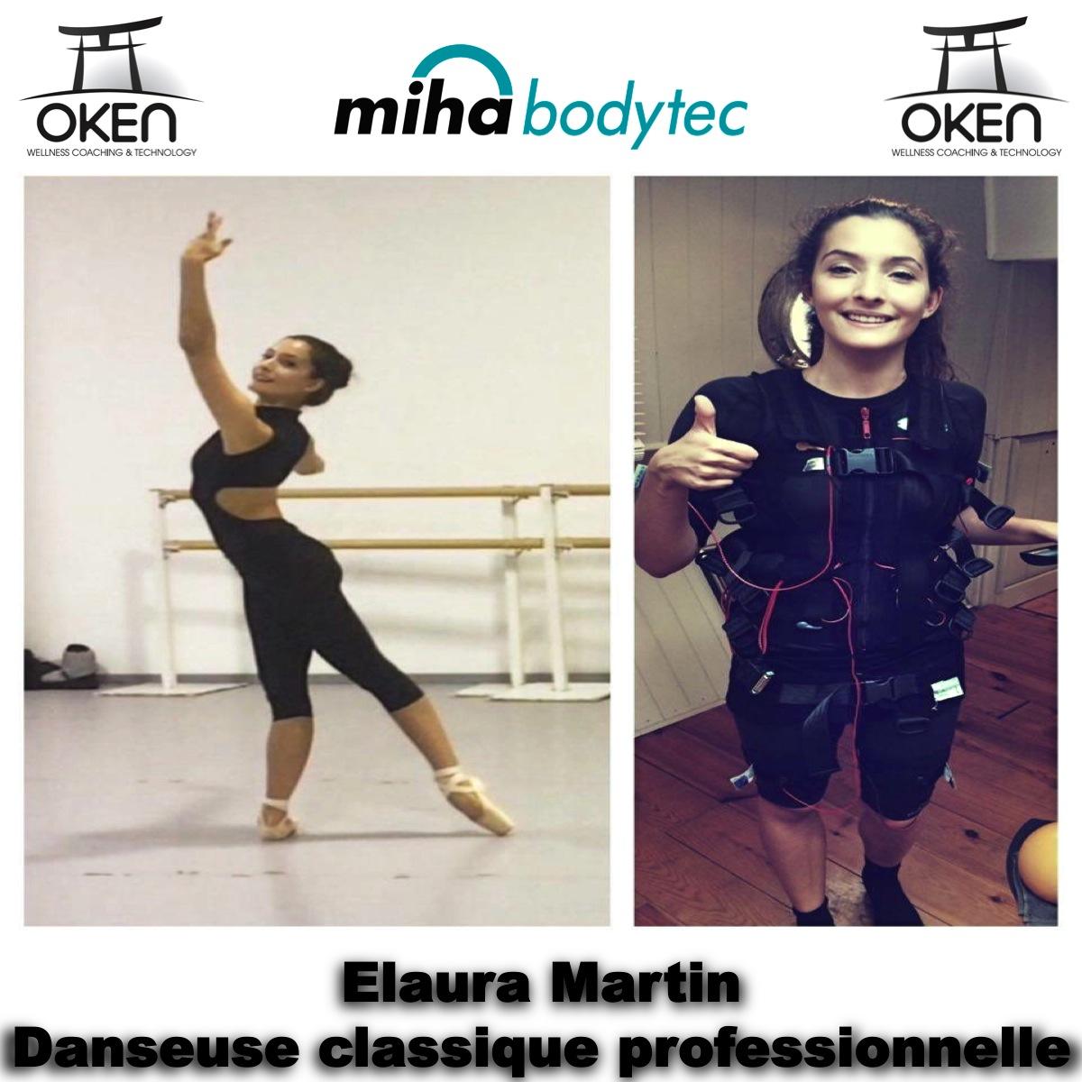 Témoignage de Elaura Martin, danseuse classique professionnelle