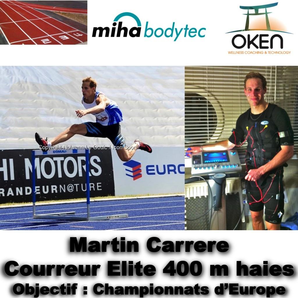 Martin Carrère et Miha Bodytec