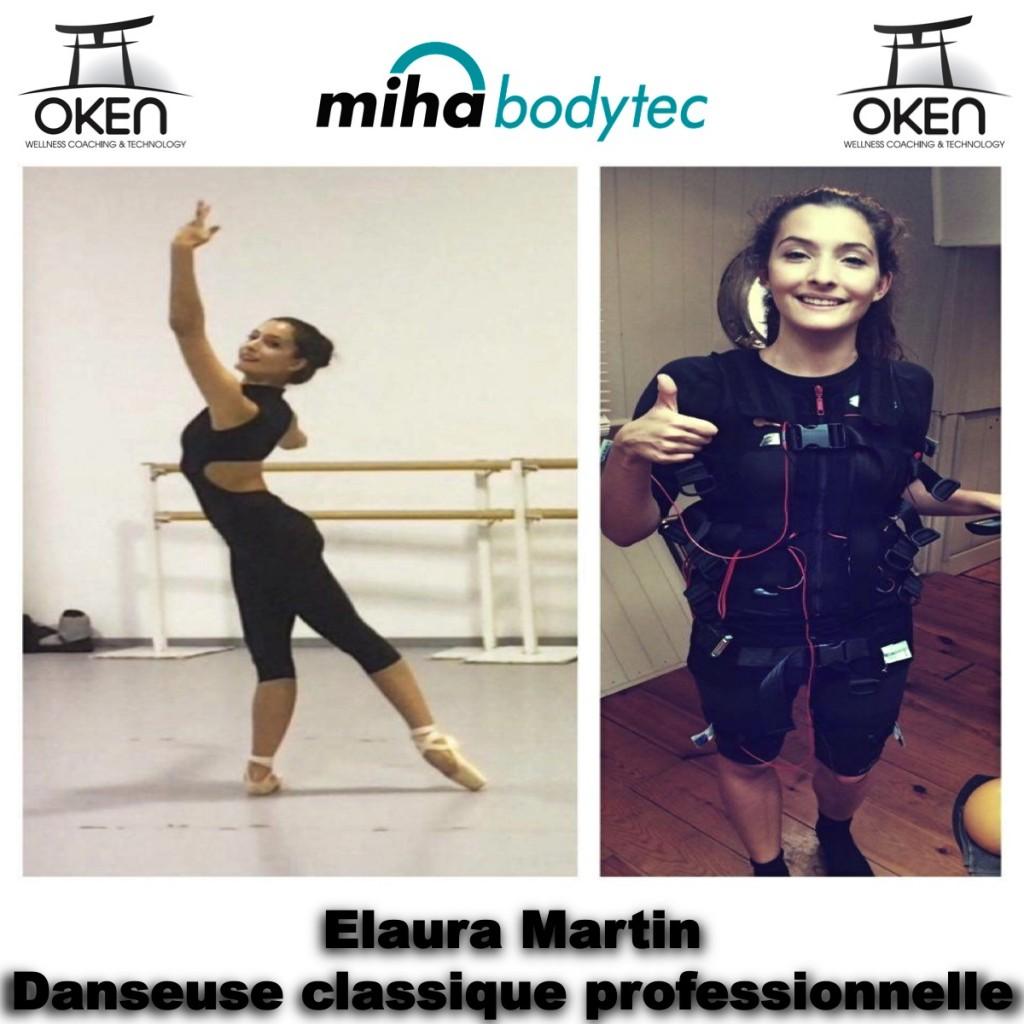 Elaura Martin et Miha Bodytec